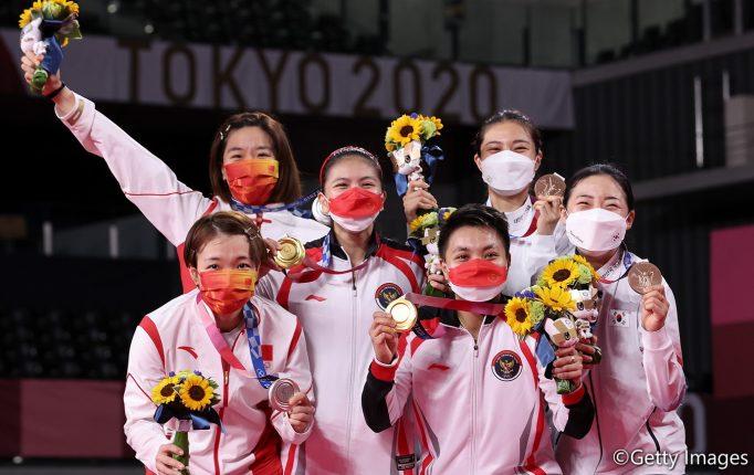 【東京五輪】「彼女と一緒に努力をすれば、何でもできると思った。私たちは自分自身を信じていた」(ポリイ)<女子ダブルス・メダリスト記者会見>