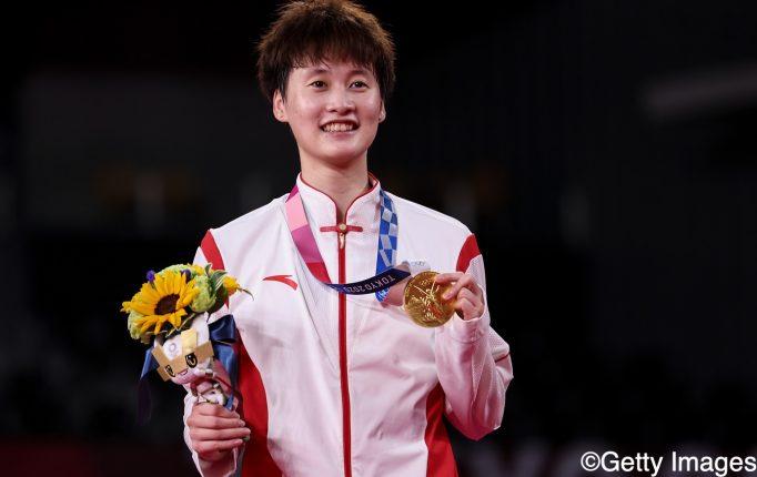 【東京五輪】1時間21分の熱戦を制した陳雨菲が女子シングルスの金メダルを獲得!<9日目レポート-2>